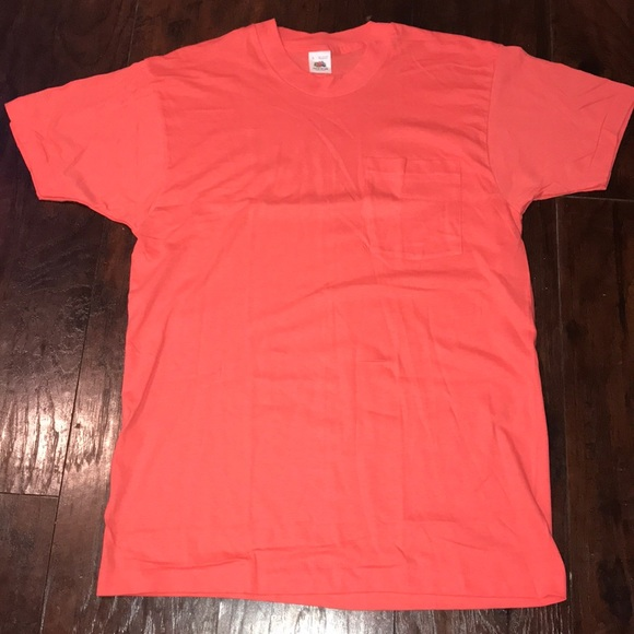 Fruit of the Loom Other - Vintage 90s Made in USA Fruit of the Loom Pocket T